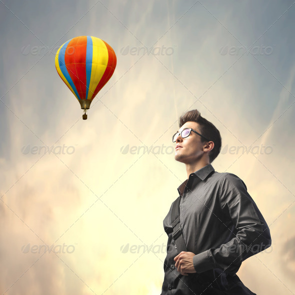 Travel with fantasy - Stock Photo - Images
