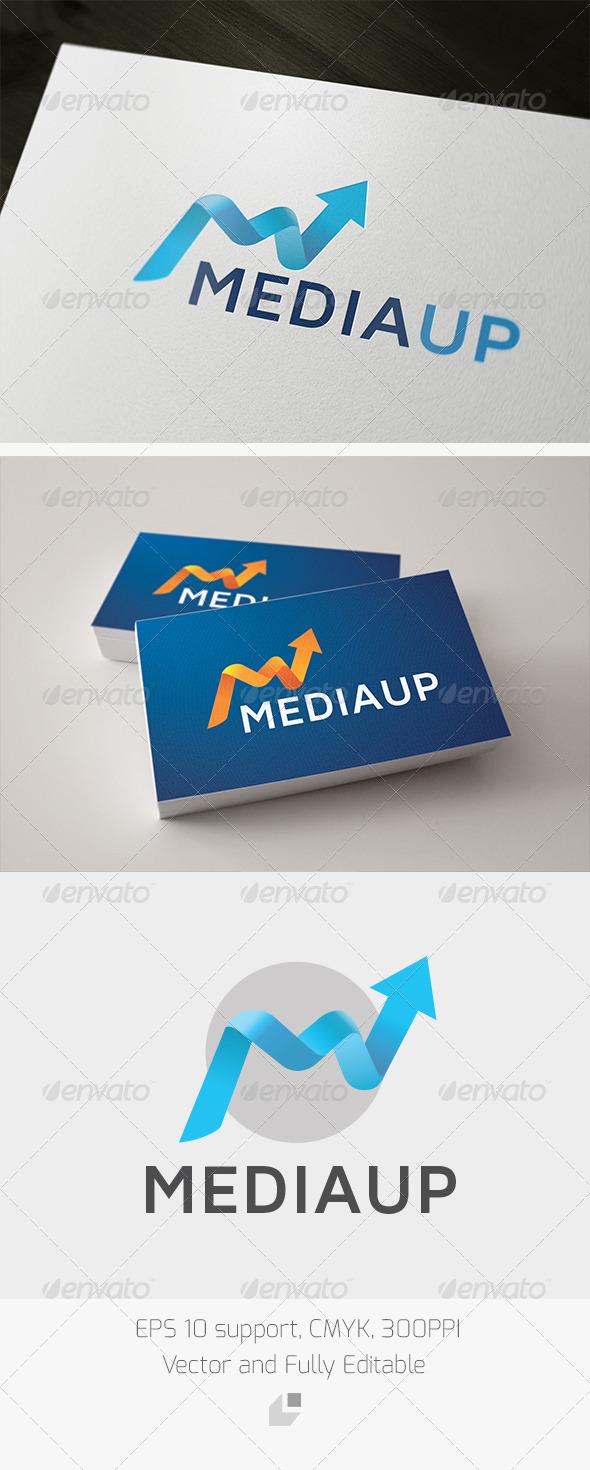 GraphicRiver Media Up Logo 3351565