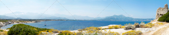 Panoramic landscape - Stock Photo - Images