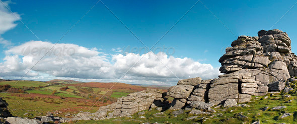 Bonehill Rocks - Stock Photo - Images