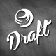 Draft Brush Logo - GraphicRiver Item for Sale