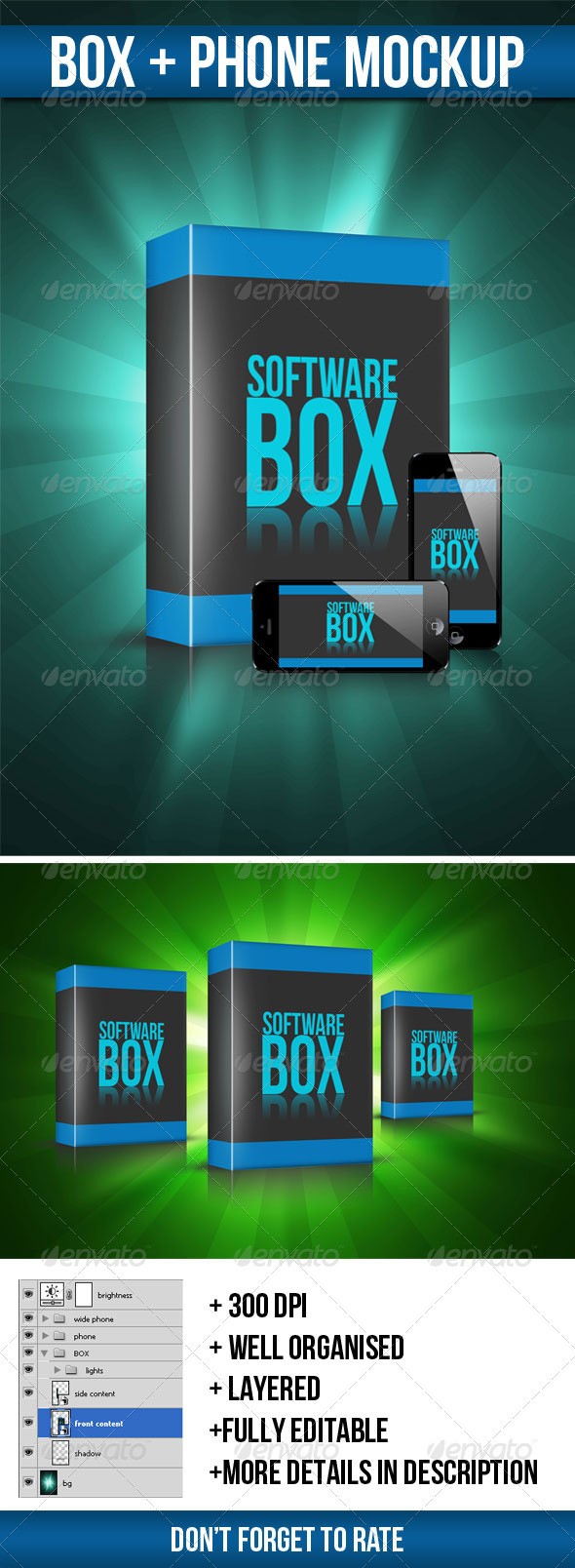 GraphicRiver Box Mock-up 3351627