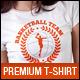 Basketball Team Club Uniform T-Shirt - GraphicRiver Item for Sale