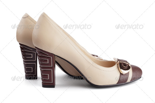 Women's high heels - Stock Photo - Images
