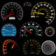 Set of car speedometers for racing  - PhotoDune Item for Sale