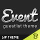 Event Guest List WordPress Theme - ThemeForest Item for Sale