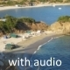Small Beach Aerial View (With Audio) - VideoHive Item for Sale