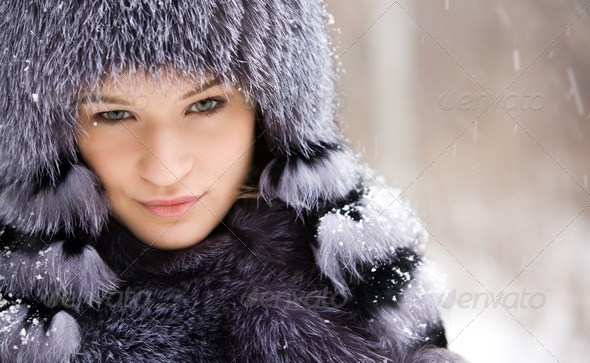 Fashionable girl - Stock Photo - Images