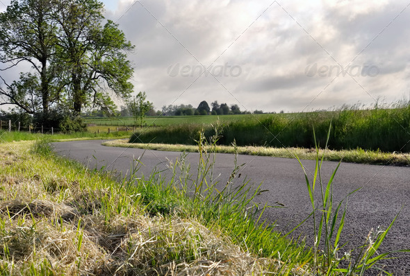 campain road - Stock Photo - Images