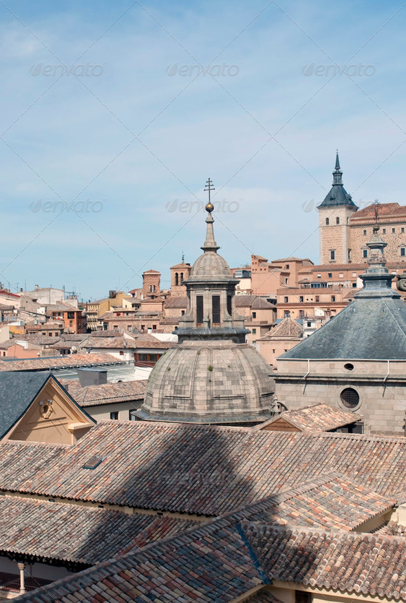 Dome of the church of Toledo - Stock Photo - Images