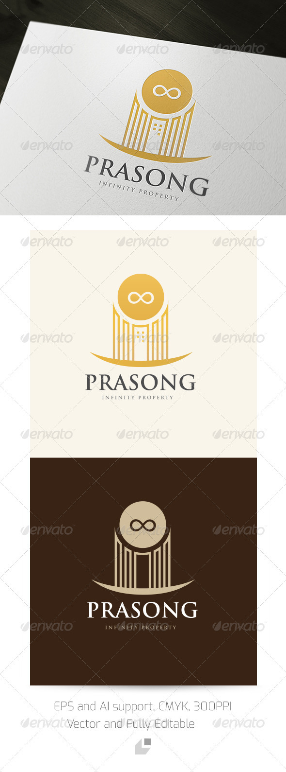 GraphicRiver Prasong Infinity Property Logo 3352653