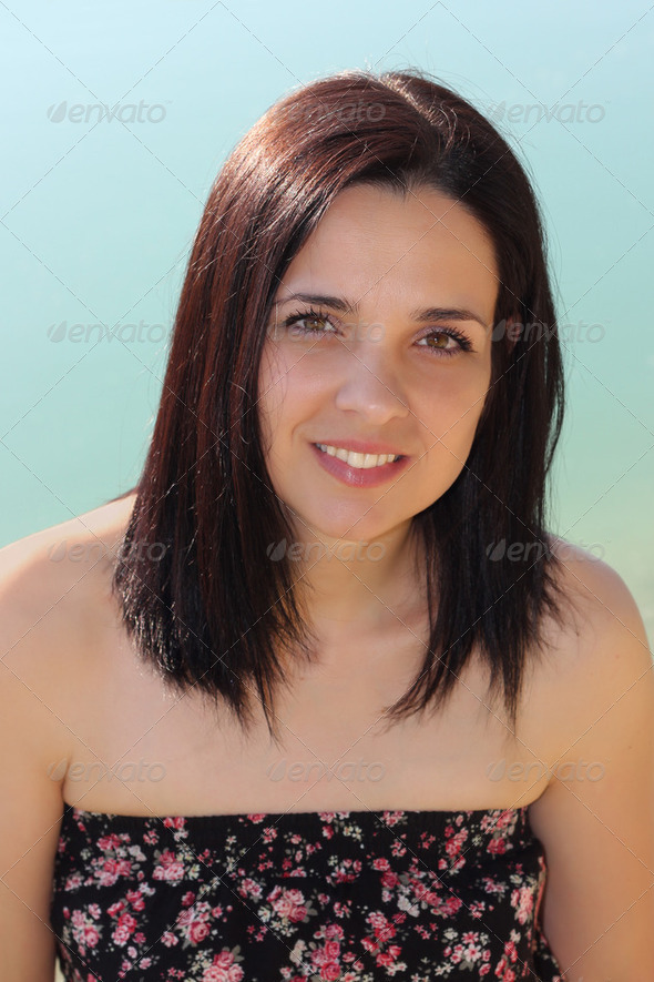 Young woman portrait - Stock Photo - Images