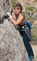 Female rock climber. - PhotoDune Item for Sale