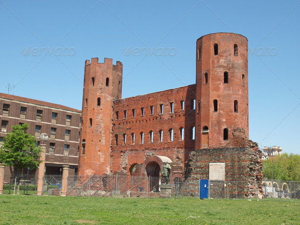 Torri Palatine, Turin - Stock Photo - Images