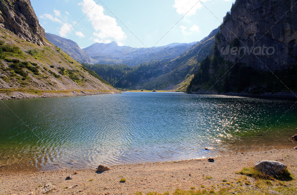 krnsko lake - Stock Photo - Images