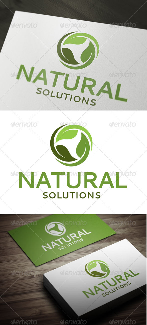 GraphicRiver Natural Solutions 3352959