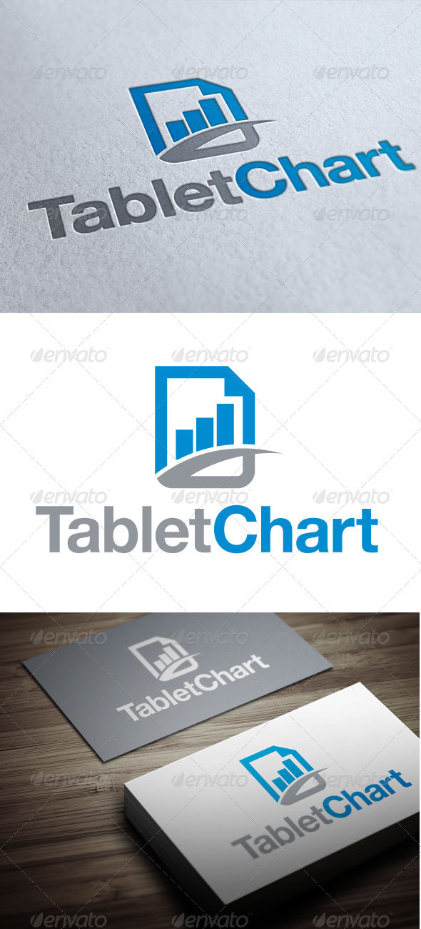 GraphicRiver Tablet Chart 3352977