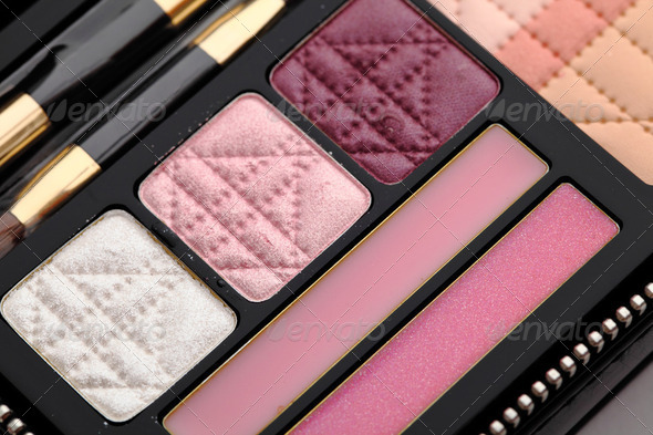 make up palette - Stock Photo - Images