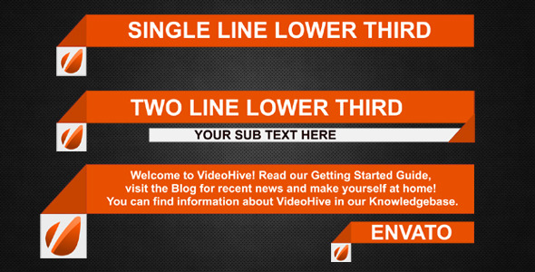 VideoHive Lower Third 3352995