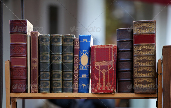 Old books - Stock Photo - Images