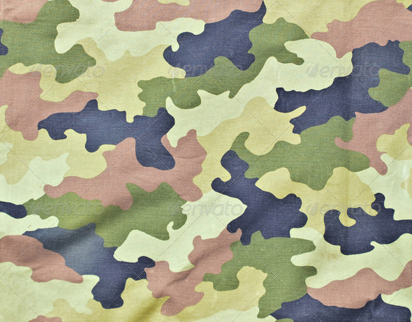 Army textire background - Stock Photo - Images