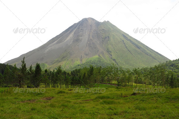 Volcano Arenal - Stock Photo - Images