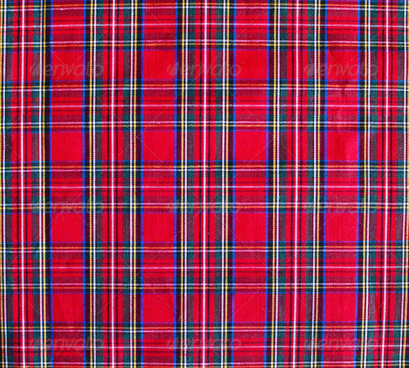 Pattern picnic tablecloth background - Stock Photo - Images