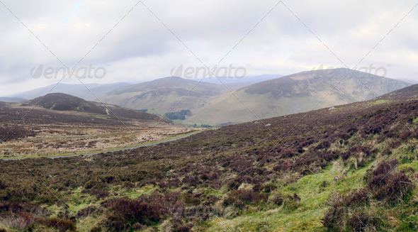 Wicklow Mountains - Stock Photo - Images