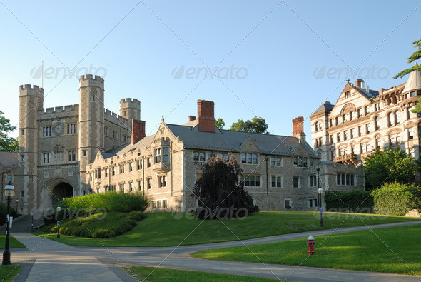 Stock Photo - PhotoDune Campus of Princeton University in New Jersey 2397012