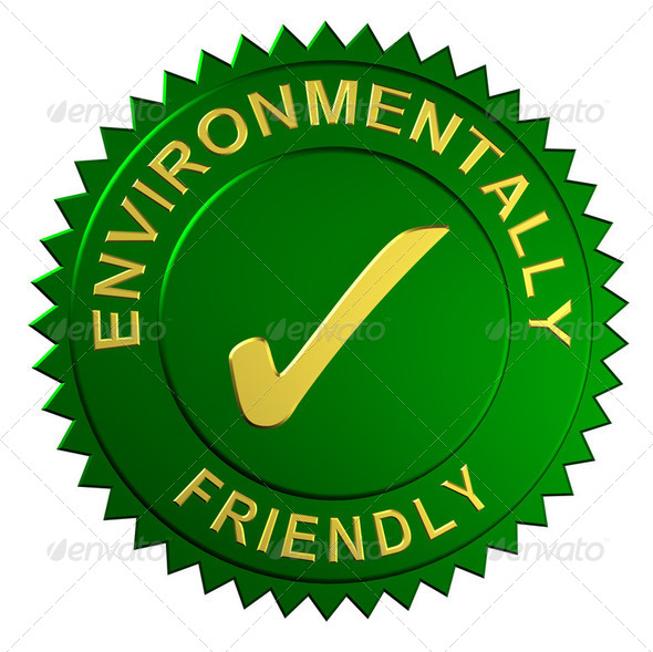 Environmentally Friendly Seal - Stock Photo - Images