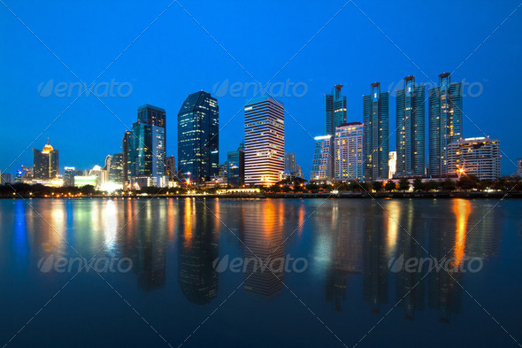 City Scape - Stock Photo - Images