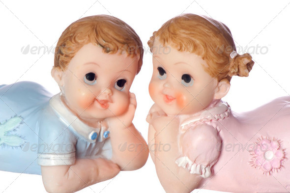 favors baby - Stock Photo - Images