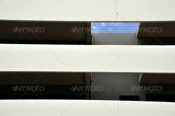 building facade and balcony - Stock Photo - Images