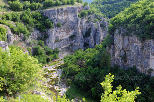 Emen Canyon In Bulgaria - Stock Photo - Images