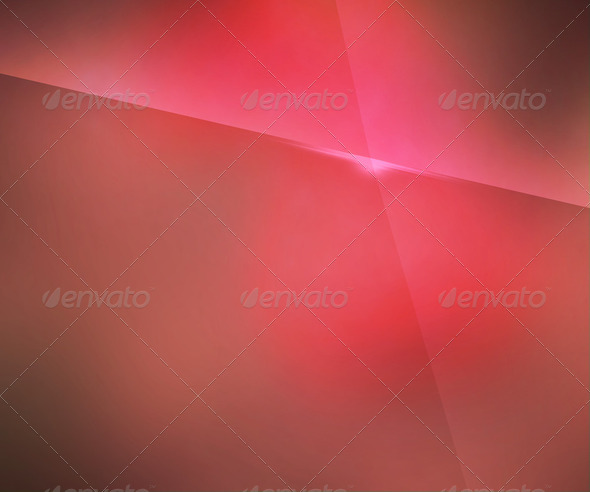 Simple Red Blur Background - Stock Photo - Images