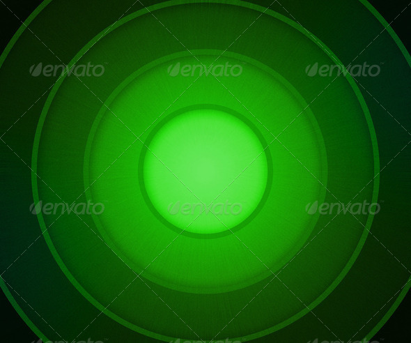 Green Circles Background - Stock Photo - Images