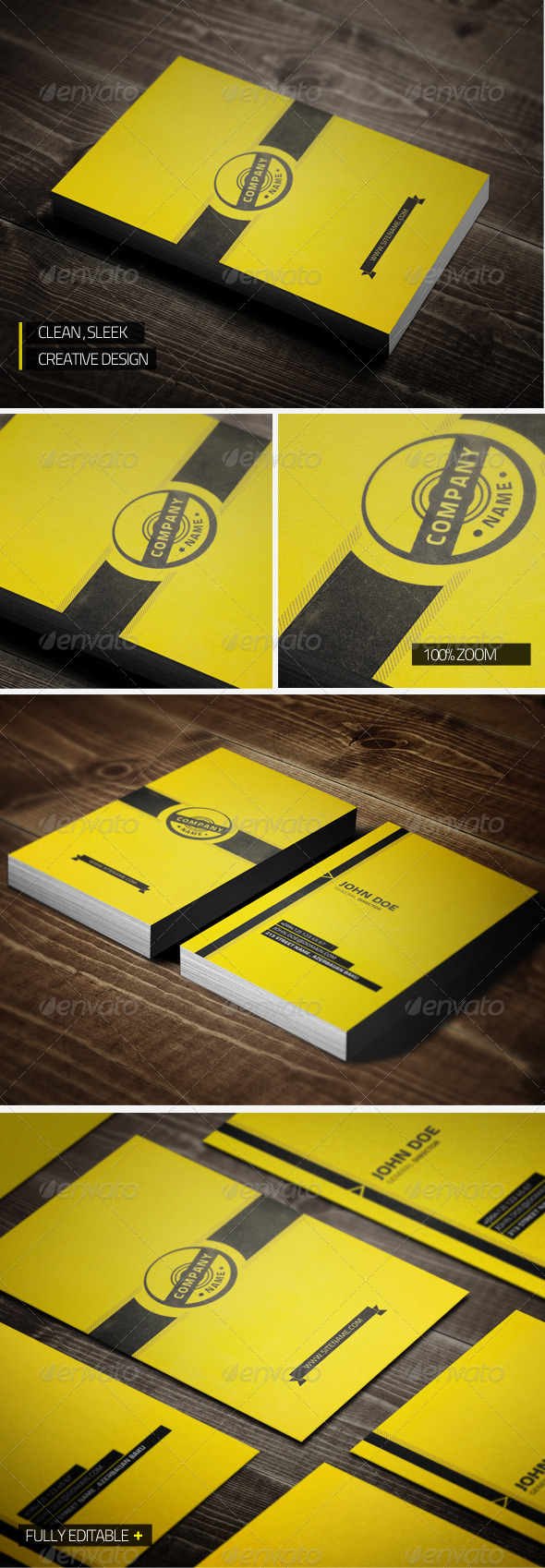 GraphicRiver Creative Business Card 3353336