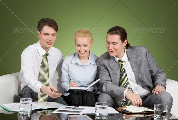 Corporate work - Stock Photo - Images