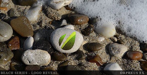 VideoHive Beach Series Logo Reveal 3353351