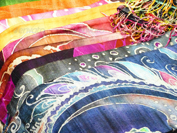 Colorful Batik - Stock Photo - Images