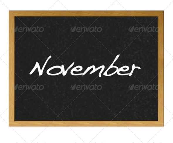November. - Stock Photo - Images