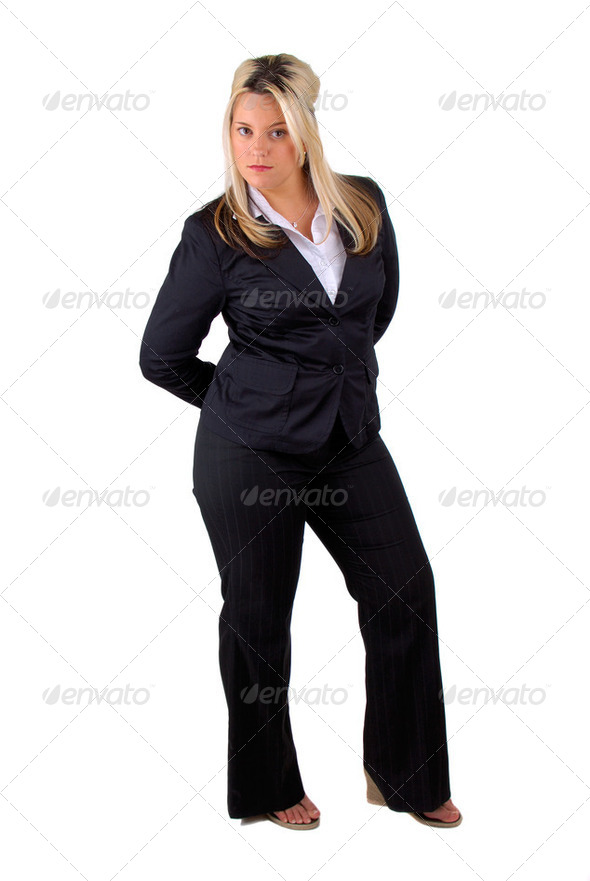Full Length Business Woman - Stock Photo - Images
