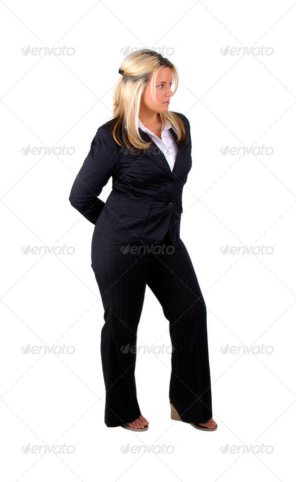 Business Woman Isolated - Stock Photo - Images
