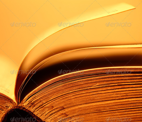 Old Book - Stock Photo - Images