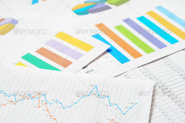 Financial Documents - Stock Photo - Images