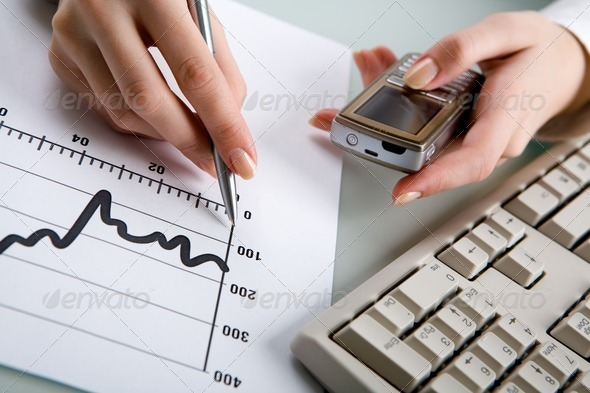 At workplace - Stock Photo - Images