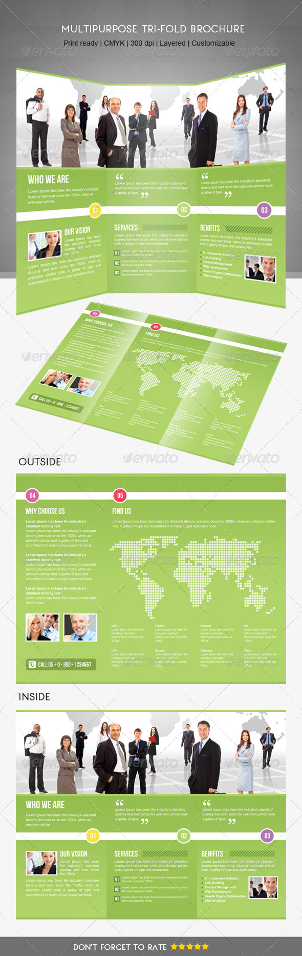 GraphicRiver Trifold Business Brochure 3353497