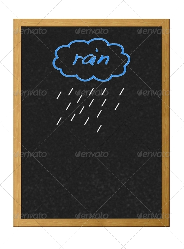 Rain. - Stock Photo - Images