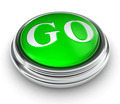 go word on green button - PhotoDune Item for Sale