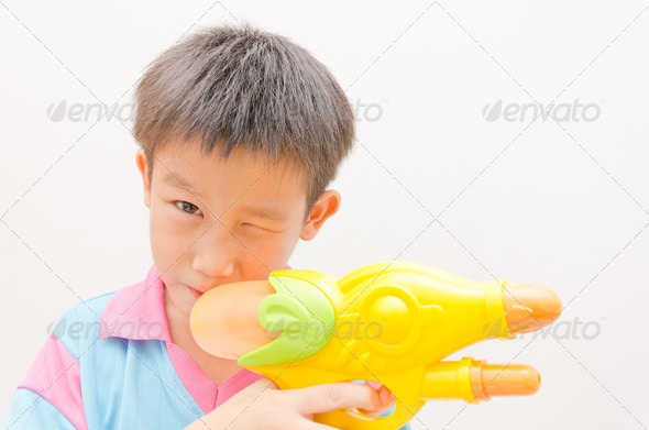 Asian boy - Stock Photo - Images